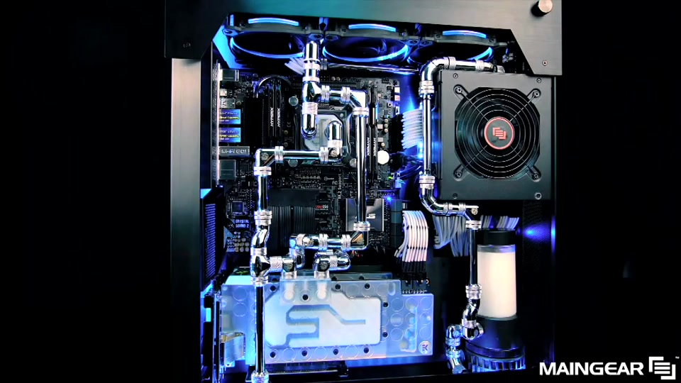 Water Cooled Gaming Pc Build