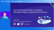 An Opinionated Way to Deploy Windows Apps using GitHub Actions