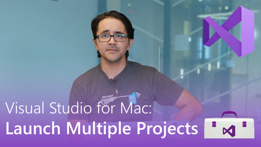 Visual Studio for Mac: Launch Multiple Projects
