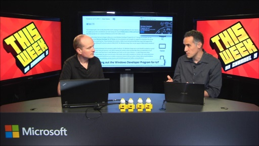 TWC9: Kinect for Windows v2, Unified Windows Dev Portal, IoT and more...