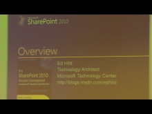 March 2011 Developer Dinner: Developing and Customizing Office 2010 Solutions for SharePoint 2010