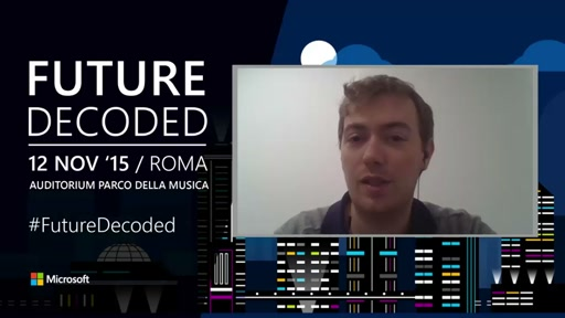 STU03 - Windows 10, Kinect and wearables for students - Matteo Valoriani