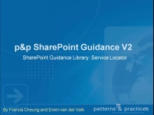 How to use the SharePoint Service Locator? - p & p Developing SharePoint Applications guidance