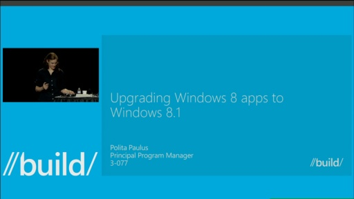 Upgrading Windows 8 Apps to Windows 8.1