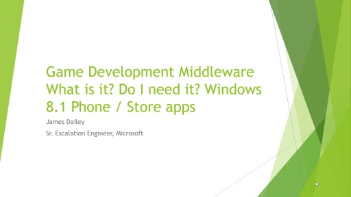 Game Development Middleware: What is it? Do I need it?