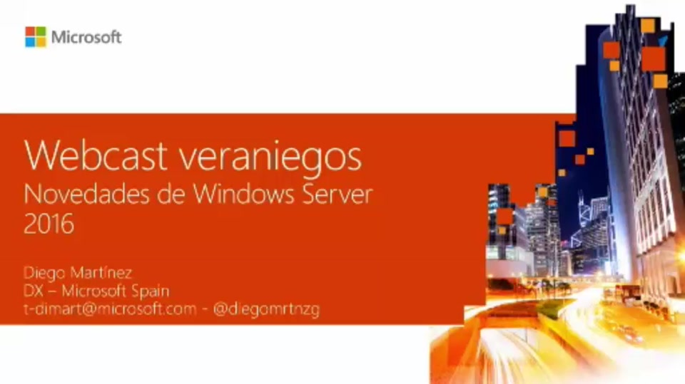 Novedades de Windows Server 2016
