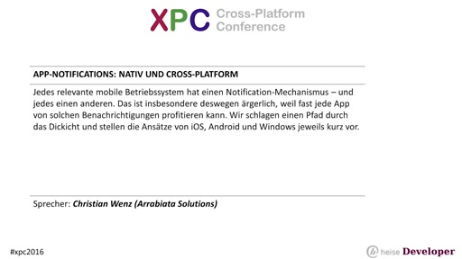 App-Notifications: nativ und cross-platform
