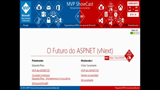 O Futuro do ASP.NET (vNext)