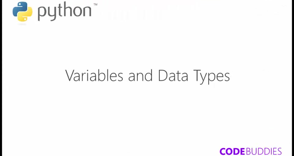 Adventuring Python    Variables and Data types in Python