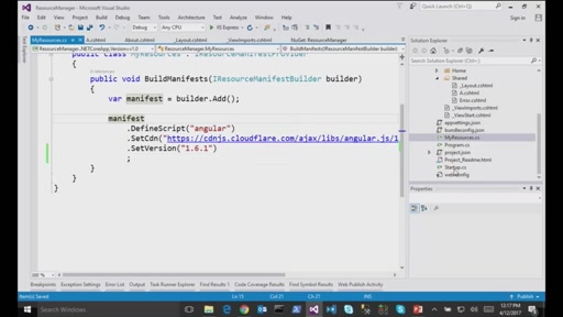 Sebastien Ros on ASP.NET Core MVC Resource Management