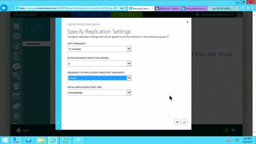 (Part 2) How to Setup and Protect Hyper-V Virtual Machines with Azure Site Recovery