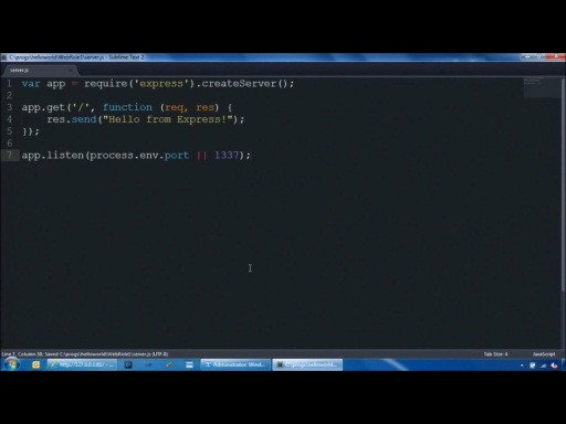 Node.js Windows Azure Introduction