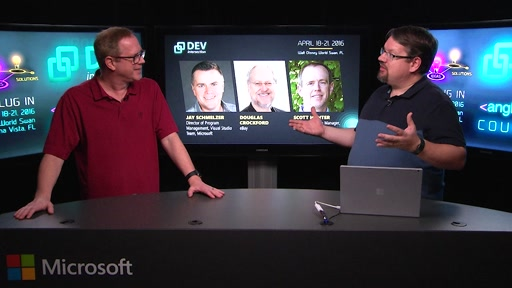 DevIntersection Spring 2016 CountDown Show #4 with Scott Hunter