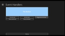 How Do I: Use Event Handlers in a Windows 8 App?