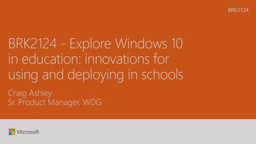 Explore Windows 10 in education: innovations for using and deploying in schools