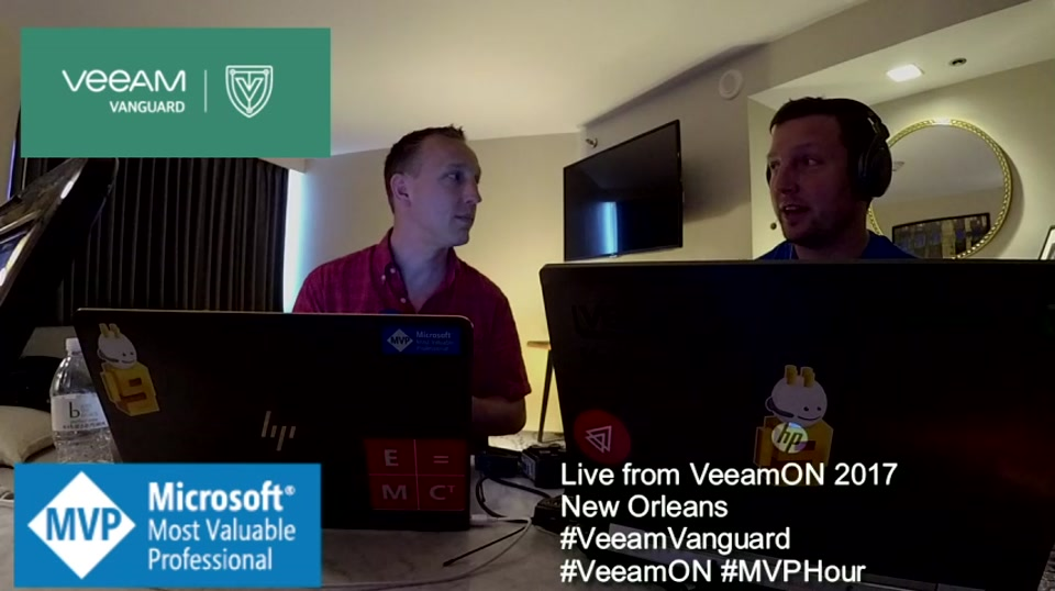 Episode 62 - Live from New Orleans VeeamON Pre-Show