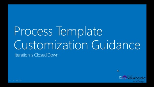 TFS Process Template Customization Guide - Iteration is Closed Down