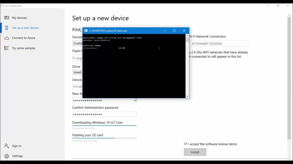 Installing Windows in Raspberry Pi 3 - A Programmer's Guide to Internet of Things - Part 3