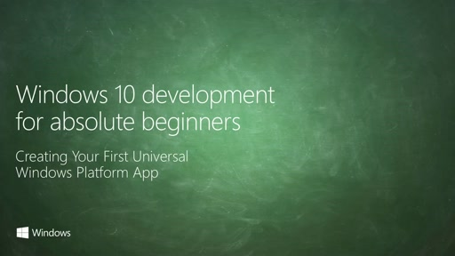 UWP-002 - Creating your First Universal Windows Platform App