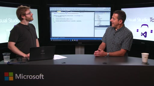 JavaScript Editing in Visual Studio 2015