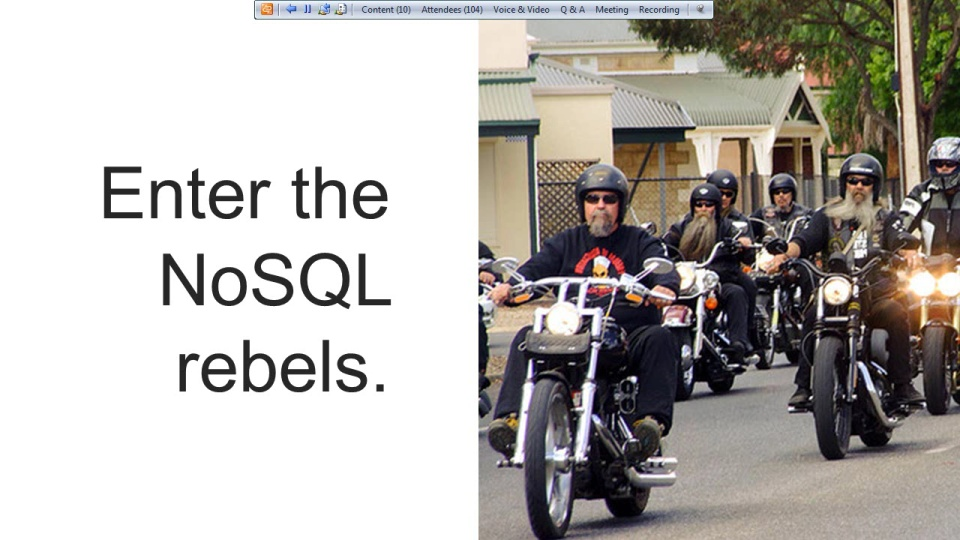 Intro to RavenDB: NoSQL is Rapping at Your Door