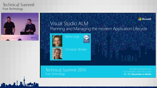 Visual Studio ALM - Planning and Managing the modern Application Lifecycle