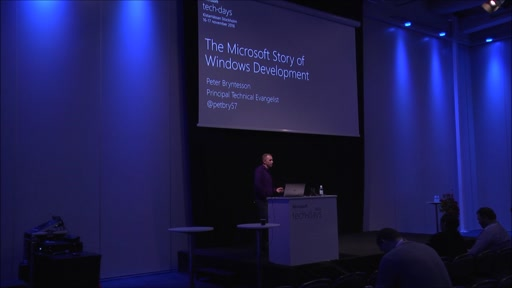 The Microsoft Story of Windows Development