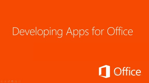 Developing Apps for Office 2013