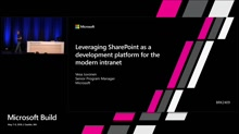 Leveraging SharePoint as a development platform for the modern intranet
