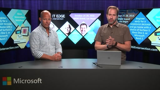 Brad Anderson's ITEdge intersection & DEV intersection Fall CountDown Show #2 with Scott Hanselman