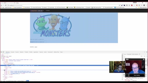 ASP.NET Monsters #93: React