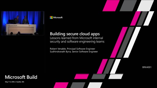 Building secure cloud apps – lessons learned from Microsoft's internal security and software engineering teams