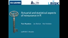 Actuarial and statistical aspects of reinsurance in R