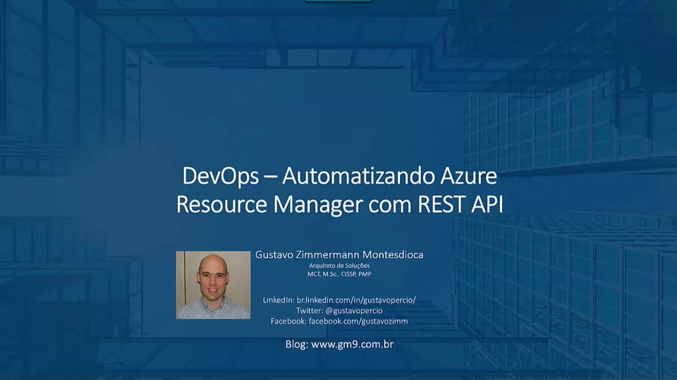 DevOps - Automatizando Azure Resource Manager com REST API