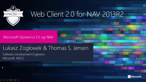Web client 2.0 for NAV 2013R2