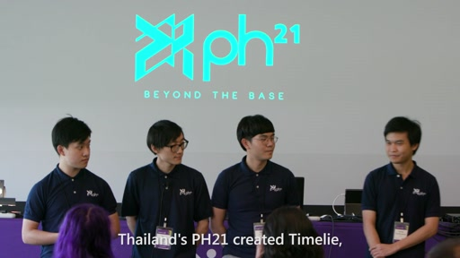 2016 Imagine Cup Games Finalist Team - PH21, Thailand