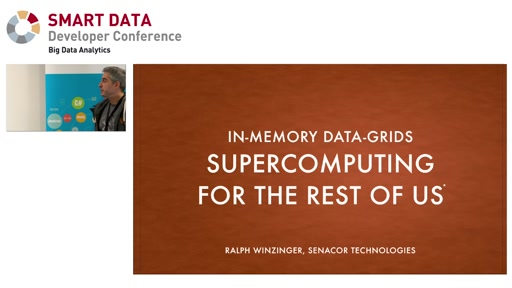 In-Memory Data Grids – supercomputing for the rest of us