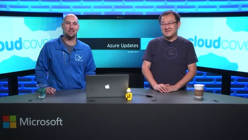 Episode 216: Azure News Recap with Chris and Haishi October 2016