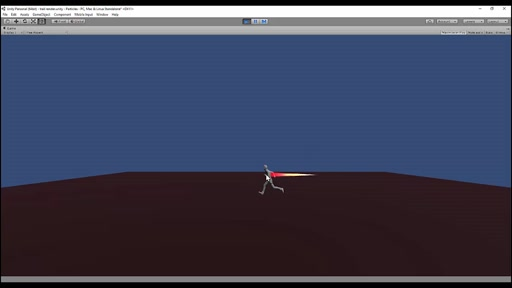 Trail Renderer in Unity