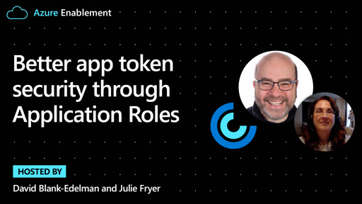 Better app token security through Application Roles