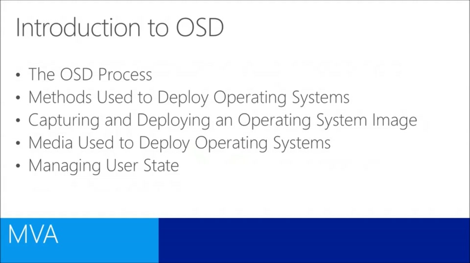 (Module 4) Operating System Deployment