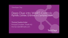 Deep Dive into WinRT-Controls: FlipView, ListView, GridView and SemanticZoom