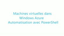[Cloud IaaS] Machines virtuelles dans Windows Azure : Automatisation avec Windows PowerShell