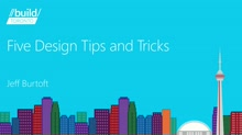 Five Design Tips and Tricks