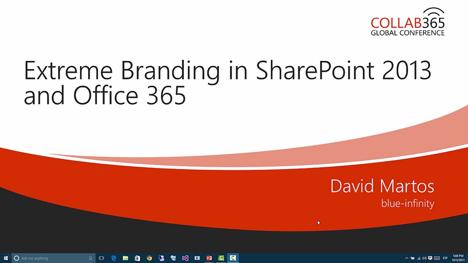 extreming branding in sharepoint and office 365