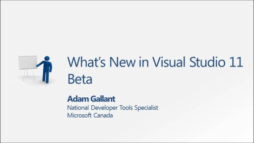 DEV380 - What's New in Visual Studio 11 Beta