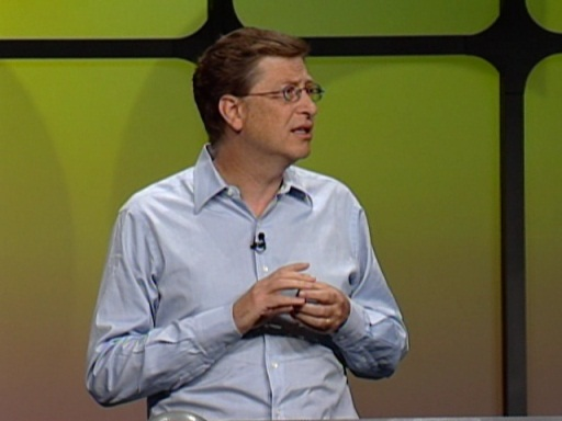 PDC 2003 Keynote with Bill Gates
