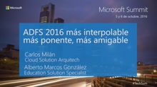 T1 - Windows Server 2016: ADFS 2016