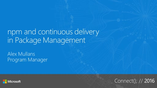 npm and continuous delivery in Package Management