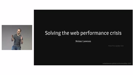 Solving the Web Performance Crisis
